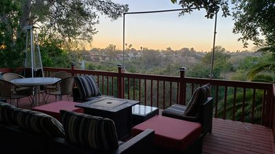 Photo for Enjoy San Diego sunsets from the deck, only 10 minutes to the beach and downtown