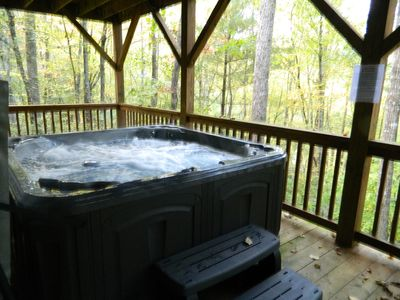 Hot Tub on Lower Level off Game / Pool Table Room