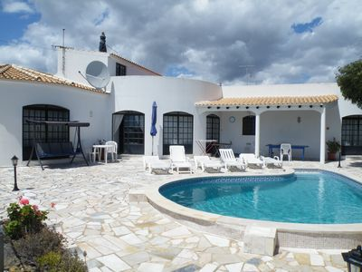 Photo for Spacious Family Villa. 3 beds/Private Pool. WiFi , air con ,Panoramic Views