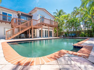 Photo for Avalon Place 5/3 for12 Guests-XLG Pool WALK TO BEACH