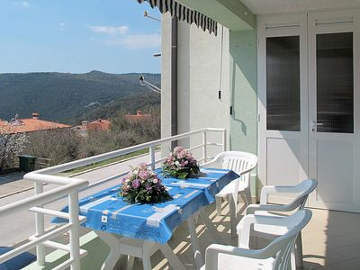 Photo for 3 bedroom Apartment, sleeps 6 in Rabac with Air Con and WiFi