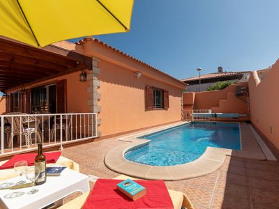 Photo for Beautiful 2 Bedroom Villa. Private Gated Heated Pool. Air Conditioning.