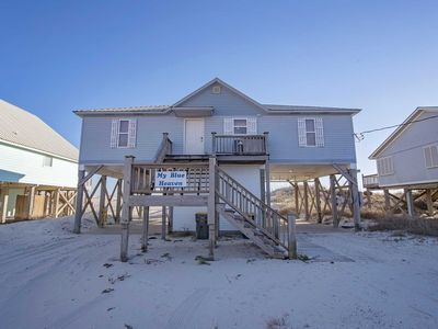 Photo for 4 BR,2 BTH ~ Gulf Front ~ Sleeps 14 ~ Pet Friendly ~ My Blue Heaven