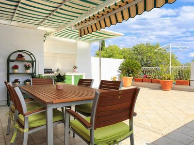Photo for Three bedroom apartment with terrace and sea view Split