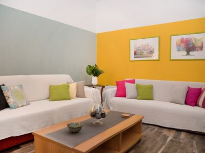 Photo for Lavender Apartment in Athens, spacious, fully equipped ,family-friendly