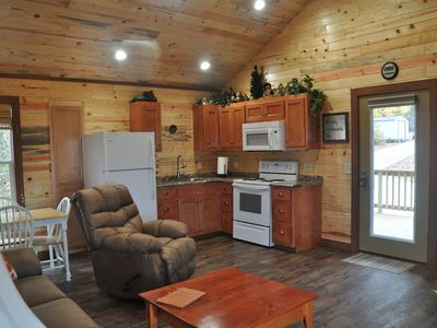 Photo for CRITTER CORNER chattanooga 25 miles , hot tub , ,gated, wifI. fireplace,nickajac