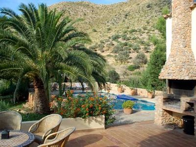 Photo for A beautiful secluded country villa with breathtaking views of the sea