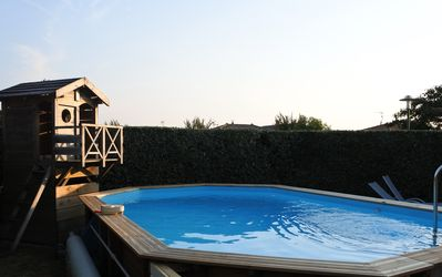 Photo for family villa with pool 10min from Hossegor
