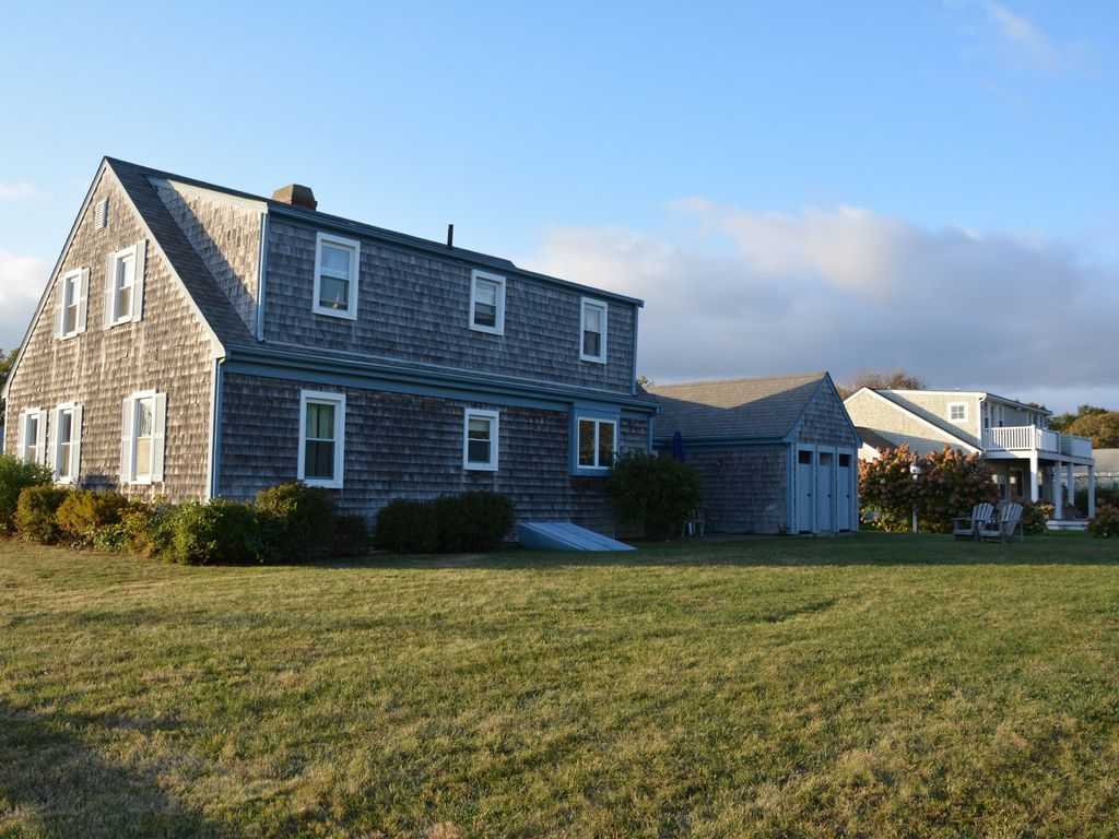 3 houses from ocean with 5br and large homeaway east falmouth