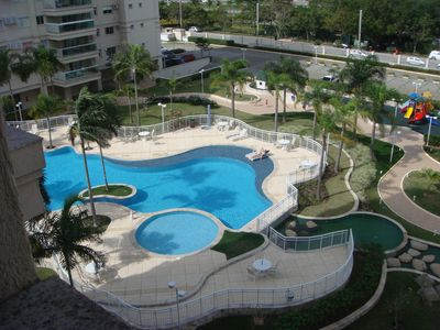 Photo for Apartment condo with full infrastructure, main gate of the Tijuca bar