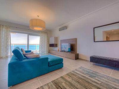 Photo for Seafront Luxury Apartment with Pool