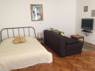 Photo for Studio flat with air-conditioning Opatija (AS-14937-a)
