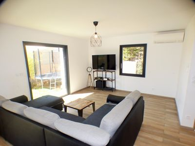 Photo for Modern Villa, 3 Bedrooms, Air Conditioning, Ideal for Families