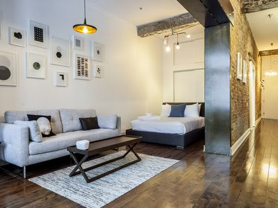 Photo for Mid-Century 1BR in Old Montreal by Sonder