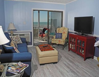 Photo for Palmwood Villas Unit 102! Oceanfront 2 Bedroom Condo! Book now for best rates!