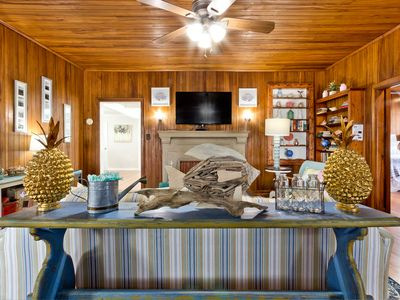 Photo for Pineapple By The Sea: 3 BR / 2 BA home in Tybee Island, Sleeps 8