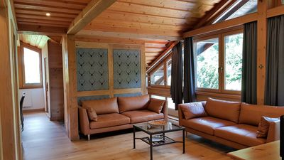 Photo for Cottage directly at the ski lift / ski school + ski rental right outside the front door