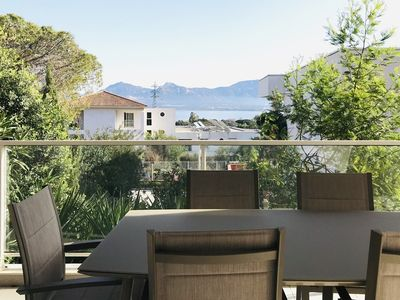 Photo for Modern apartment with sea and mountain view - CALVI - F3 14 DONATEO