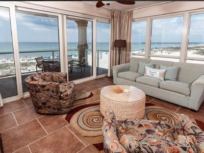 Photo for Marvelous Gulf Front Views, Heated Pools, Spa, and Free Beach Chairs!