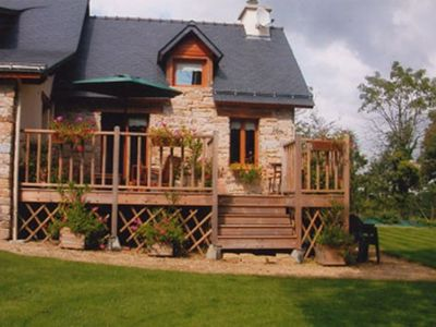Photo for 1BR Cottage Vacation Rental in Marzan, Bretagne