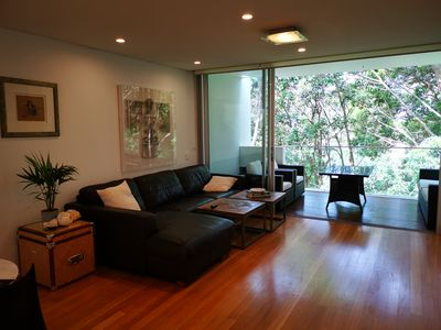 Photo for Beautiful modern split level penthouse style apartment in heart of Bondi Beach