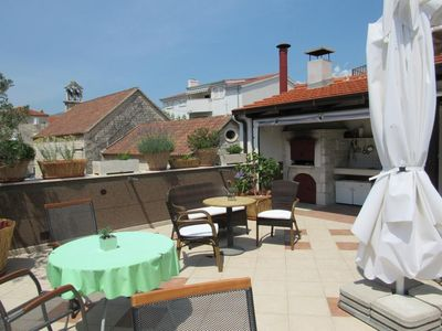 Photo for Apartment Vitris  SA7-Attic(2+2)  - Trogir, Riviera Trogir, Croatia