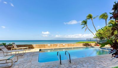 Photo for Aloha Condos, Nohonani Condos and Resort, Condo 101, Beachfront