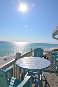 Photo for Mistral 24🌴☀- Gulf Front, SPECTACULAR Views!  2 bed/2 bath + bunks, sleeps 8.