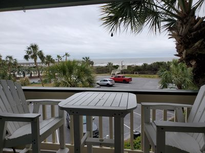 Photo for Isle of Palms Sea Cabin with beach view!