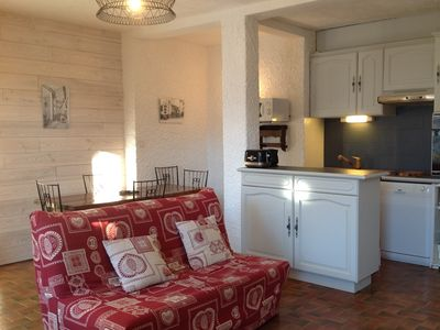 Photo for Briançon hothouse, Beautiful sunny apartment, independent in villa, 3 *** Wifii