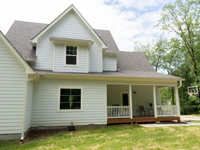 Photo for NEW mountain home, peaceful porches