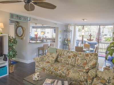 Photo for Seascape Villa, Close To Beach and Coligny, Peaceful Lagoon Balcony