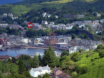 Photo for House with panoramic views of Oban Bay, only a short walk from the town centre