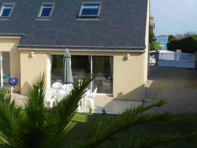 Photo for New house, 100 m from the sea, 4 bedrooms, ideal family holiday