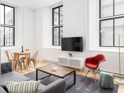 Photo for 1BR Apartment Vacation Rental in Montréal, Quebec