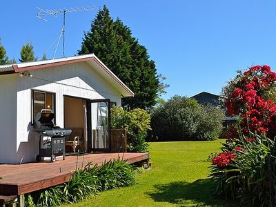 Photo for Tui Cottage - Hahei Holiday Bach