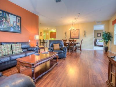 Photo for With three bedrooms, two bathrooms, a gourmet kitchen all the comforts of home are at your fingertips.