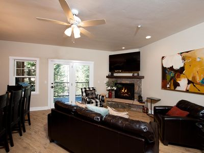 Photo for Mountain Townhome - Great Views - Free on Demand Ski Shuttle