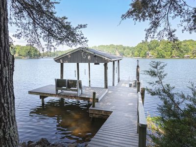 Photo for Sunset Point Lot Home with Deep Water, wifi, 2 dogs allowed