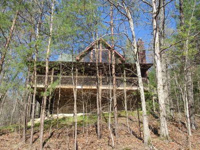 Photo for Smoky Mountain Woods Retreat /  Wears Valley/ Pigeon Forge. 2BR 2BA