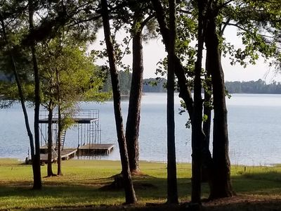 Amazing full waterview - covered dock - Clarks Hill - Rocky Branch Golf Course