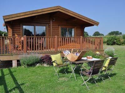Photo for 3 bedroom Log Cabin in West Wellow - NFL75