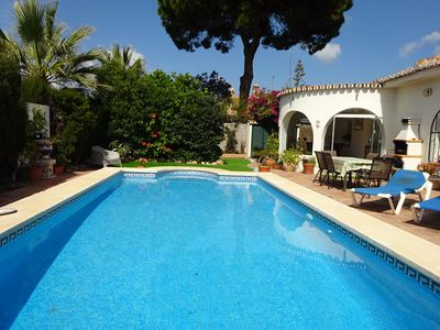 Photo for Private 4 bed, 3 bathroom detached villa in own grounds with pool