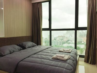 Photo for Dusit Condo View 1 bedroom 34.80 sqm Pattaya View