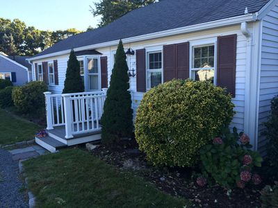 Photo for Updated Seaside Park beach house w private beach rights, near Craigville, A/C