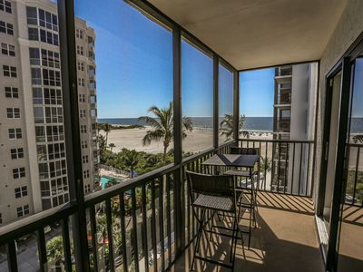 Photo for Absolutely Stunning Remodeled 7th Floor Beachfront Condo at Island Winds