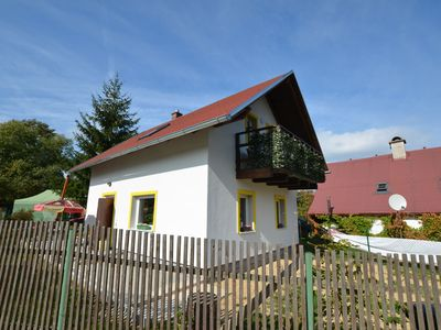 Photo for Nice detached holiday home in a fenced garden in West Bohemia