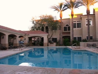 Photo for Luxury Vacation Condo walking distance to Phoenix Open and Barrett-Jackson