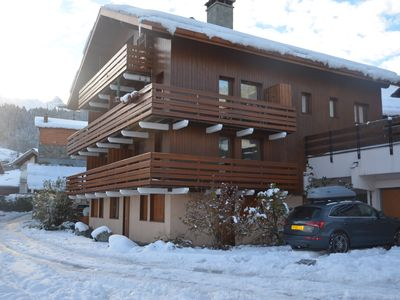 Photo for Meribel Les Allues, 2 Bed Apartment with mountain views, free WiFi & garage