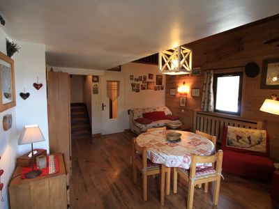 Photo for 1BR Apartment Vacation Rental in Megeve